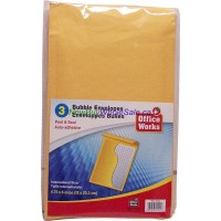 "Bubble Envelope 3 pk 4.75""x8 LOWEST $0.83"