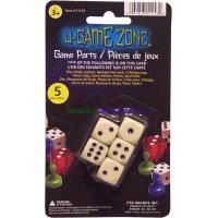 Urea Dice Set 5 pieces LOWEST $0.90