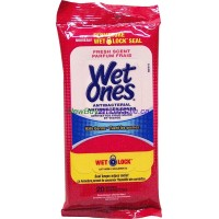 Wet Ones Antibacterial Wipes 20pk