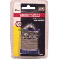 Laminated Steel Padlock 40mm LOWEST $2.89