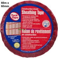 Tuck Tape Construction Grade 60mm x 66m LOWEST $7.20