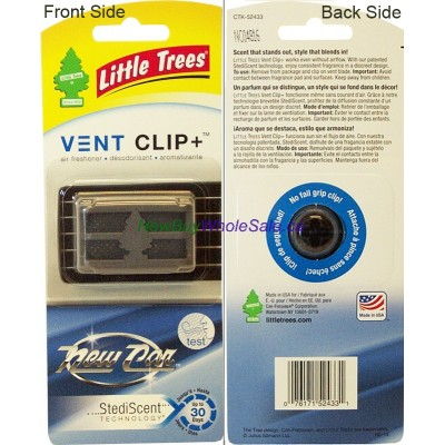 Little Trees Vent Clip+ air freshner - New Car - by Little Trees. LOWEST $1.85