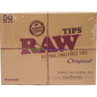 RAW TIPS Original 50 per box