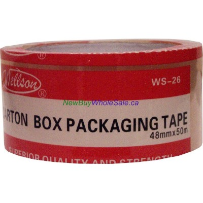 Packing Tape Clear 48mm x 50m LOWEST $0.72