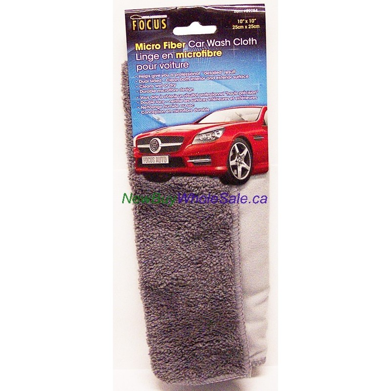 micro fiber car wash cloth for interior exterior lowest canada 39 s online merchandiser. Black Bedroom Furniture Sets. Home Design Ideas