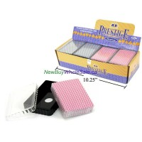 Playing Cards in Plasic Box LOWEST $0.87 2 colour Assortment