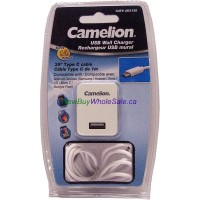 CAD3120 USB Cell Phone Wall Charger + Type C cable 1m LOWEST $5.50