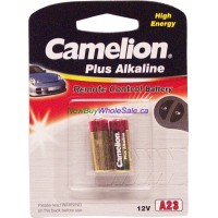 A23-BP2 Camelion 2pk 12V Alkaline LOWEST $0.85