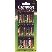 Camelion Super heavy Duty Long Life AAA 18 pk LOWEST $1.69