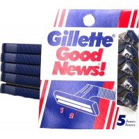 Gillette Good News Twin Blade Razors 5pk LOWEST $2.30