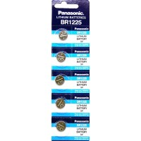 Panasonic BR 1225 (CR1225) Button Cell Lithium Watch Batteries $1.48 lowest