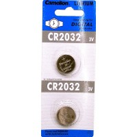 Camelion CR2032 Button Cell Lithium Watch Batteries 2pk.. $0.52 lowest