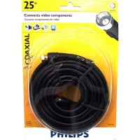 Philips TV Cable Black 25ft.