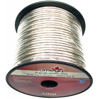 Speaker Wire 12 Gauge 98ft 30m. Omega - LOWEST $23.99