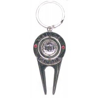 Keychain - Canada Golf design - LOWEST $0.83pc