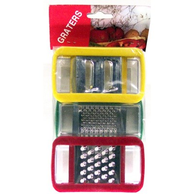 Graters 3pk with Catch Box
