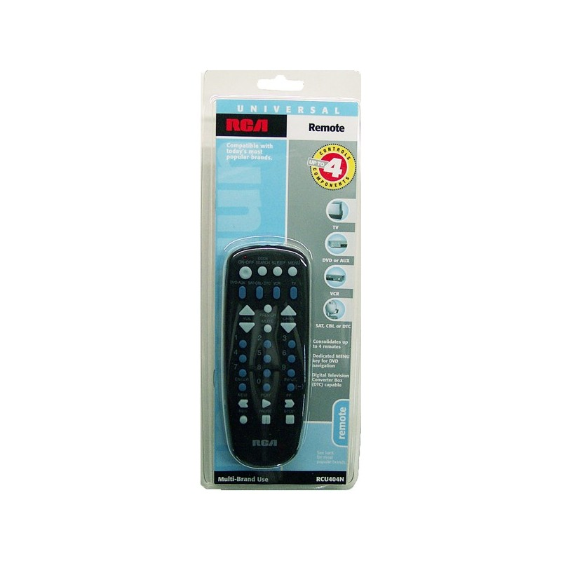 Rca Remote Control For 4 Devices Lowest 4 50 Canada S Online Merchandiser Distributor