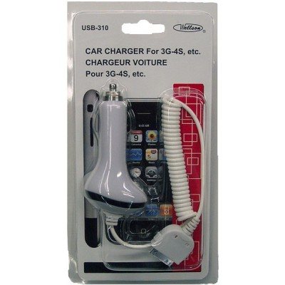 Car Charger for 3G, 4G iPhone and iPad