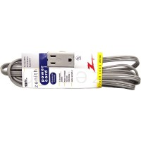 Zenith Extension Cord 10ft 3 outlet- LOWEST $3.99 - ZEC104