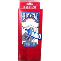 Bicycle Playing Cards Jumbo Face 12pk