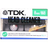 TDK Hi8 8mm Head Cleaner - for Camcorders and VCRs