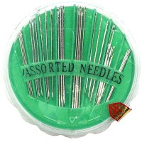 Sewing Needles Assorted 25's 20/box. - LOWEST $0.35