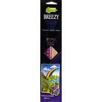 Incense 20 Sticks Breezy : Variety Pack 4 - LOWEST $0.60 -- Patchouli, Indian Fruit, Mimosa, Orchid