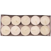 Tea Light Candle 10pk - White