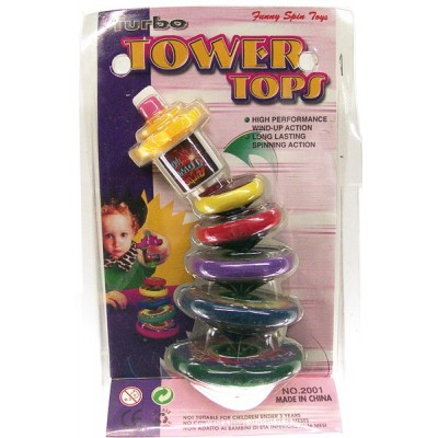 Tower Spin Tops