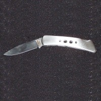 "6"" Stainless Steel Folding/Locking Knife w/2.5""blade"