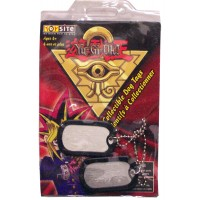 Yu-Gi-Oh! Collectables Dog Tags 2pc. LOWEST $0.75