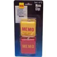 Magnetic Memo Clips 2pc LOWEST $0.64