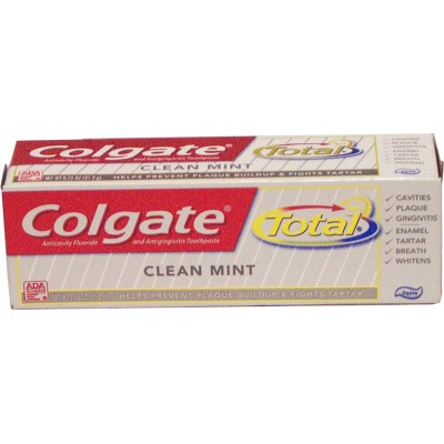 Colgate Total Toothpaste 18ml. LOWEST $0.60