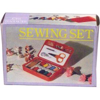 Sewing Set in plastic case. LOWEST $0.65