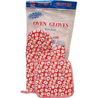 Oven Glove & Pot Pad Set (2pc). LOWEST $0.50/set