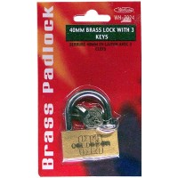 Brass Padlock 40mm.