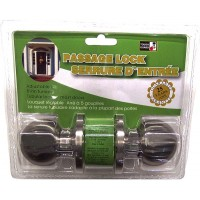 Passage Door Lock - Stainless Steel - LOWEST $7.79