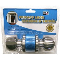 Privacy Door Lock - Stainless Steel. LOWEST $7.79